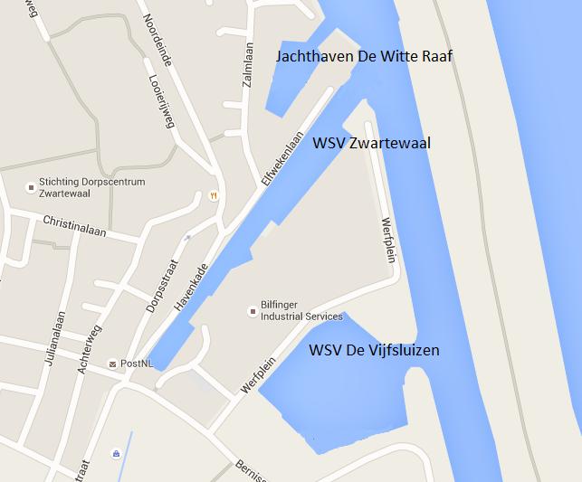 Jachthavens Zwartewaal